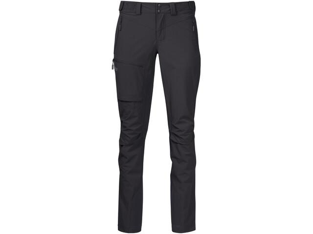Bergans Breheimen Softshell-housut Naiset, solid charcoal/solid dark grey